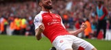 Arsenal: Giroud's Return To Fitness Timely To Save Starting Role