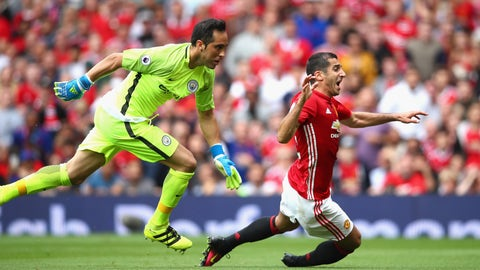 Claudio Bravo was nearly a disaster