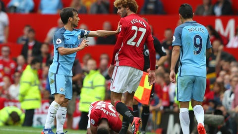 United's midfield still needs work