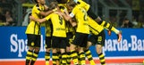 Watch: Dortmund's beautiful passing sequence leads to Guerreiro's goal
