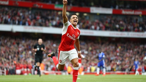 Can Alexis Sanchez be the hero again?