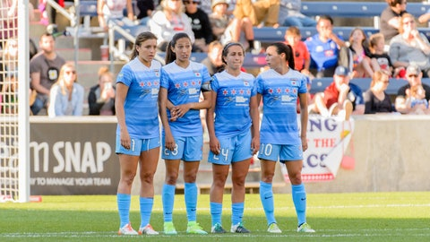 Third playoff seed: Chicago Red Stars (9-5-6, 33 pts)