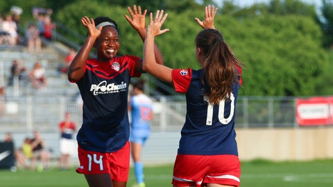 Second playoff seed: Washington Spirit (12-5-3, 39 pts)