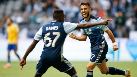 Sunday: Seattle Sounders at Vancouver Whitecaps