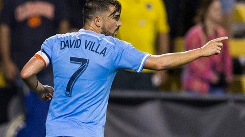 2. David Villa: 21 goals