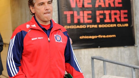 Carlos de los Cobos, Chicago Fire (2010-2011)