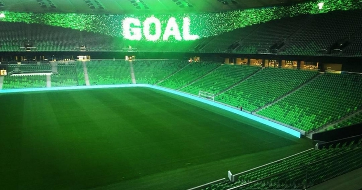 Krasnodar's new stadium is so beautiful it will make you ...