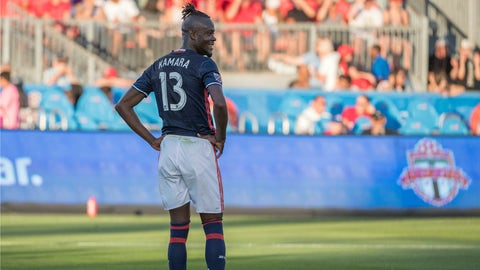 New England Revolution - Kei Kamara: $800,000