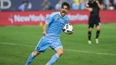 Forward: David Villa (New York City FC)