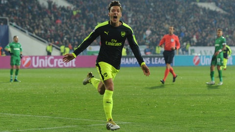 Mesut Ozil has a point to prove