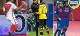 Aubameyang's perfect apology, Messi's magic lead Europe into international break