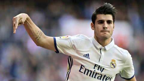 Alvaro Morata, Real Madrid – €72.9m