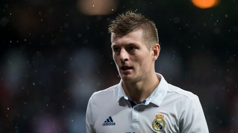Toni Kroos, Real Madrid – €71.4m