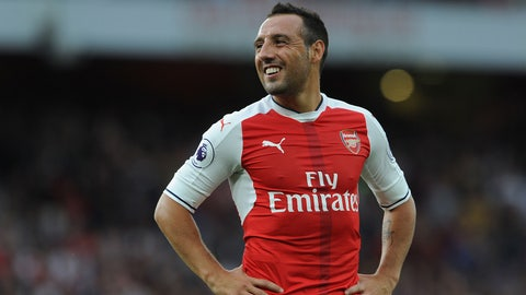 Central midfield: Santi Cazorla
