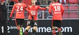 Grosicki's volley, Williams' Bale-like run lead European goals of the week