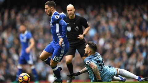 December 3rd: Manchester City 1-3 Chelsea