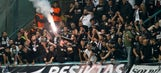 Besiktas fans cheer team at 4 a.m. after Champions League exit