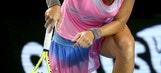 The Latest:  Kuznetsova loses at Australian Open
