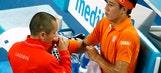 Healthy Nishikori back in Australian Open round of 16
