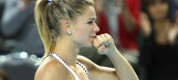 Garcia wins to draw France level 1-1 with Italy in Fed Cup