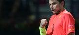 Wawrinka wins Dubai title in straight sets over Baghdatis
