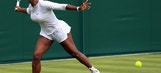 Serena Williams labors to 1st round Wimbledon win