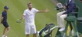 John McEnroe would be proud of this Wimbledon meltdown for the ages