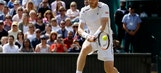 The Latest: Murray and Raonic on serve in 3rd set