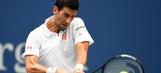 No. 1 Djokovic overcomes heat, oddities to beat Monfils and reach U.S. Open final