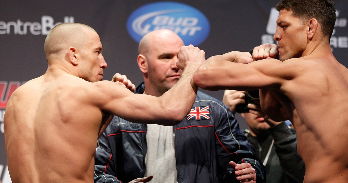 Georges St-Pierre fires back at Nick Diaz, open to rematch
