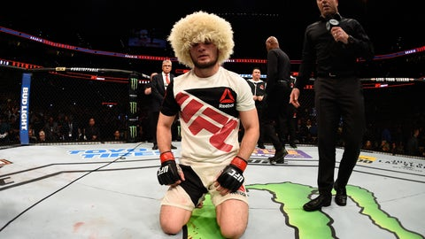 The time Khabib explained how he nicely taps people out