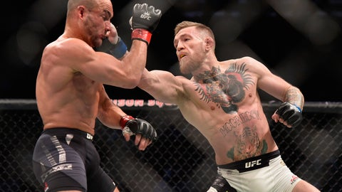 1 -- Conor McGregor vs. Eddie Alvarez
