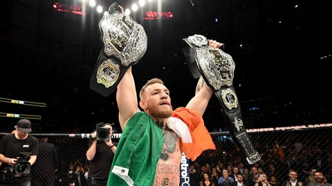 Conor's in a no-lose situation