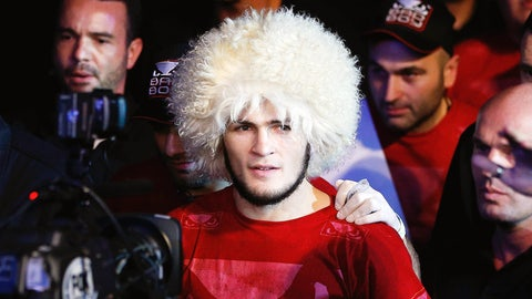 The time Khabib said people will stop talking about Conor