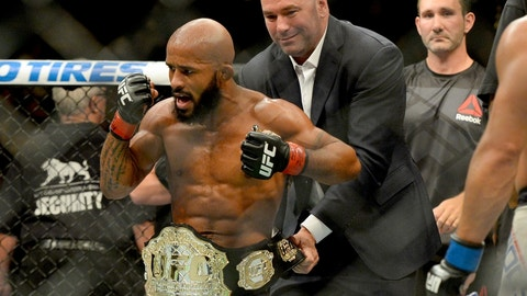 Demetrious Johnson vs. Wilson Reis