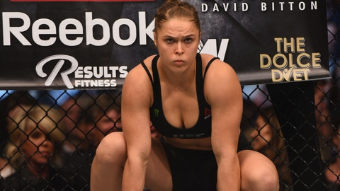 For Ronda Rousey to be able to change her UFC narrative