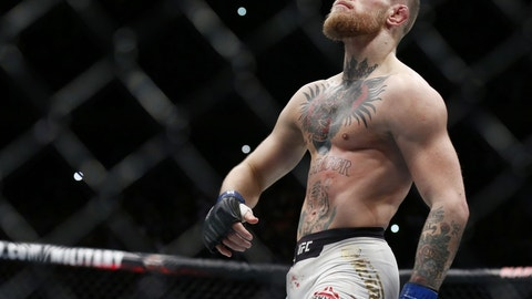 "Will Conor do the ""Billionaire Strut"" during his walkout?"
