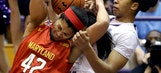 No. 5 Maryland women top Northwestern 79-70