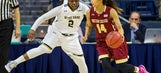 No. 2 Notre Dame tops Boston College women 70-58
